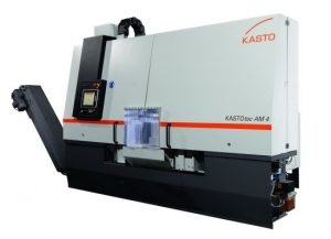 There are band saw options for all common aluminium materials up to a diameter of 830 millimetres like the Kastotec M bandsaws
