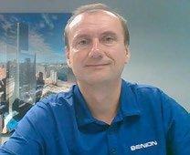 Benson Industries Inventor Administrator Radu Stancescu.
